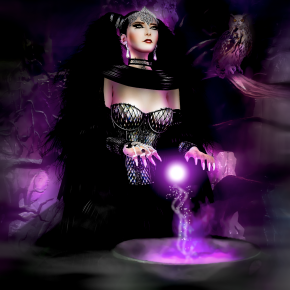 FT-MORGANE LE FAY-Wicca Merlin